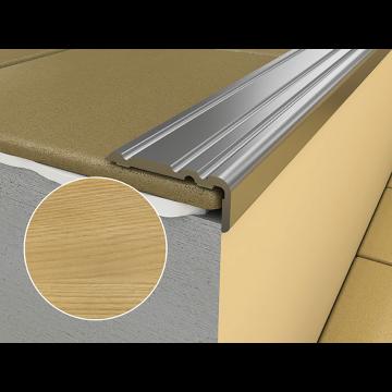 WRG1 900mm Flat Adhesive Profile P2 Gold