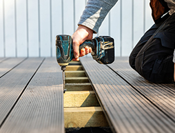 What type of composite decking is available?
